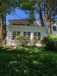 Chestnut Hill exterior home painting