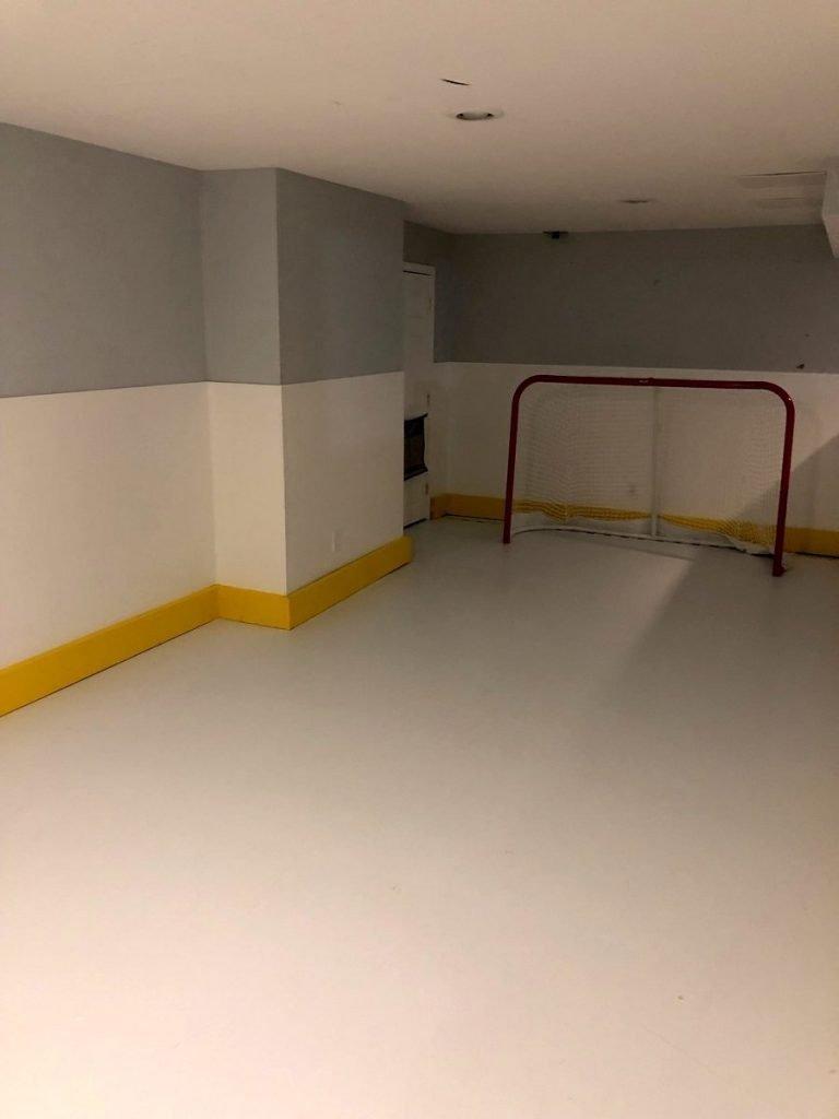 Lower Gwynedd basement paint